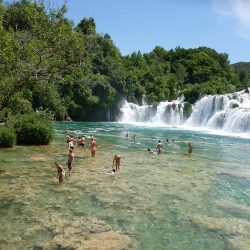 National park Krka - waterfalls